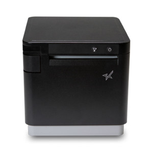 "Star Micronics mC-Print3 3"" Thermal Printer, Lightning Cable, Black (Ethernet/Bluetooth/CloudPRNT/USB) - STAR-39651310"