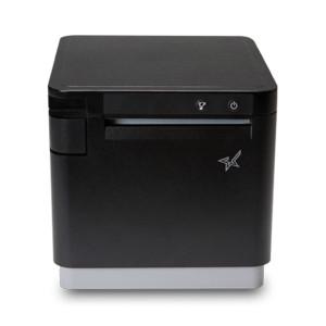 "Star Micronics mC-Print3 3"" Thermal Printer, Lightning Cable, Black (Ethernet/CloudPRNT/USB) - STAR-39651110"