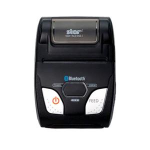 "Star Micronics SM-S230I Mobile Thermal Printer, 2"" Tear Bar, Black (Bluetooth/USB) - STAR-39632110"