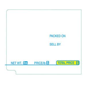 TEC Scale Labels SL9000, 57 mm X 49.2 mm UPC, 600 labels/Roll (16 Rolls) - SL-TT272
