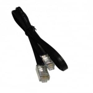 Unshielded cable assembly: 25 feet, 6-pin to 6-pin for MICROS IDN Printer - MIC-300281-120-25FT