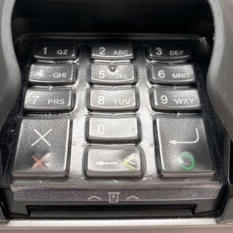 Verifone MX915 & MX925 Keypad Protective Spill Cover