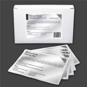 "Waffletechnology 3"" Thermal Printer Cleaning Card with Wonder Solvent - KW3-T36B15WS"