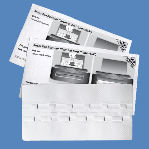 Technical Cleaning Cards - for POS Terminals, Check Scanners