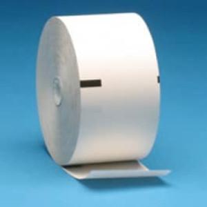 """Wincor-Nixdorf Pro Cash 1500 ATM Thermal Paper, Sense Marks - 3.125"""" x 900' (4 Rolls) - A-71546"""