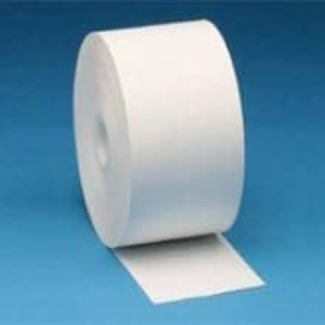 """Zebra 2"""" X 574' Z-Perform 1000D 2.4 mil Receipt Paper Roll, 6 rolls/carton - ZEB-10010057"""