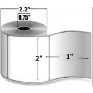 "Zebra 2000D IQ Color, 2"" x 1"", Direct Thermal Label, 36 Rolls, #10020397 - ZEB-10020397"