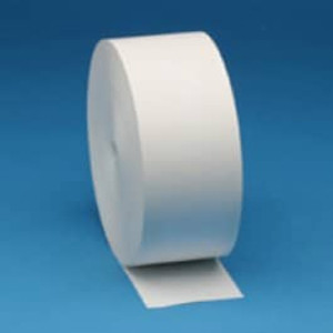 "Zebra 3.125"" X 645' Z-Perform 1000D 3.5 mil Receipt Paper Roll, 8 rolls/carton - ZEB-10007008"