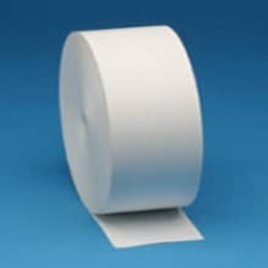 "Zebra 4.375"" X 645' Z-Perform 1000D 3.5 mil Receipt Paper Roll, 8 rolls/carton - ZEB-10007009"