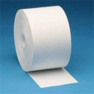 "Zebra 4"" X 574' Z-Perform 1000D 2.4 mil Receipt Paper Roll, 6 rolls/carton - ZEB-10010058"