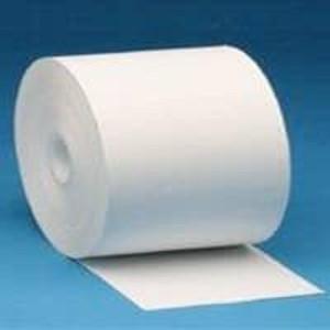 "Zebra 8.5"" X 565' Z-Perform 1000D 3.5 mil Receipt Paper Rolls (4 Rolls) - ZEB-10007010"