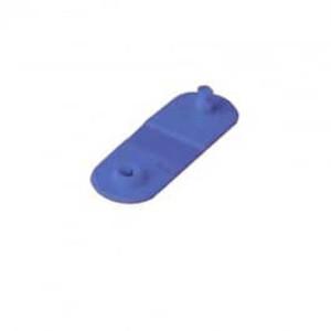 Zebra Z-Band QuickClip Purple Wristband Clips (275 Clips) - ZEB-97032-Purple