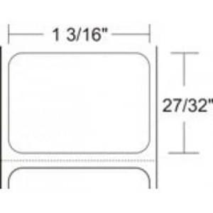 "Zebra Z-Select 4000D, 1.2"" x 0.85"" Direct Thermal Labels, 6 Rolls/Case - ZEB-10010037"