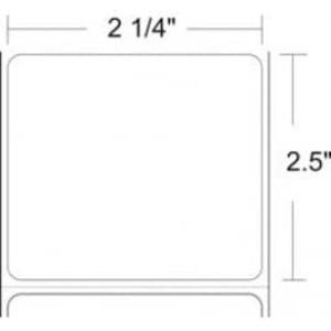 "Zebra Z-Select 4000D, 2.25"" x 2.5"" Direct Thermal Labels, 4 Rolls/Case - ZEB-10010041"