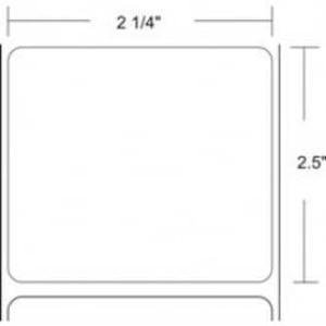"Zebra Z-Select 4000D, 2.25"" x 2.5"", Direct Thermal Label, 8 Rolls, #72277 - ZEB-72277"
