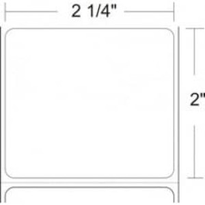 "Zebra Z-Select 4000D, 2.25"" x 2"" Direct Thermal Labels, 12 Rolls/Case - ZEB-10015342"