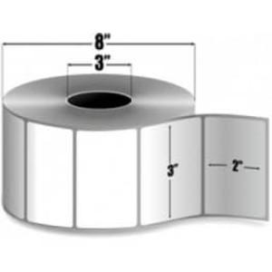 "Zebra Z-Select 4000D, 3"" x 2"", Direct Thermal Label, 6 Rolls, #98958 - ZEB-98958"