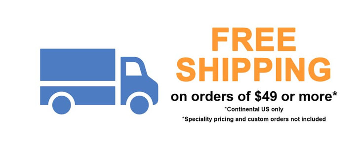 Get Free Shipping on All Orders of $49 or More at POSSupply.com