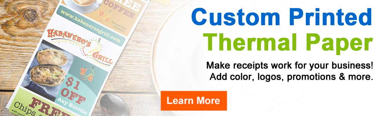 POS Supply Solutions - Thermal Receipt Paper, Register Tape